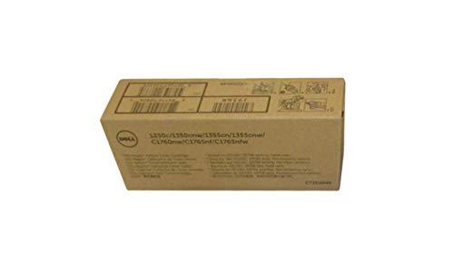 Dell Tonerkartusche für Laserdrucker (Originalprodukt, Kapazität: 700 Seiten, geeignet für folgende Dell-Geräte: 1250 / 1350 / 1355 / 1355cn / 1355cnw / C1760 / C1760nw / C1765 / C1765nfw) Gelb
