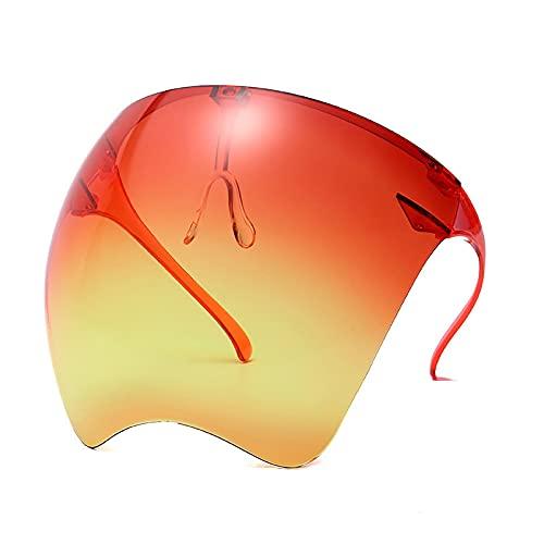 Gafas De Sol Gafas Protectoras Unisex, Gafas De Sol para Mujer, Gafas De Seguridad De Una Pieza para Hombre, Gafas De Sol A Prueba De Viento para Mujer, Naranja, Amarillo