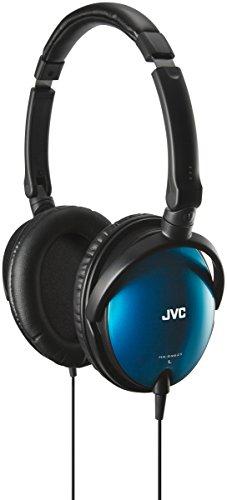 JVC HA-SR625 Diadema Binaural Alámbrico Negro, Azul - Auriculares (Alámbrico, Diadema, Binaural, Circumaural, 8-25000 Hz, Negro, Azul)