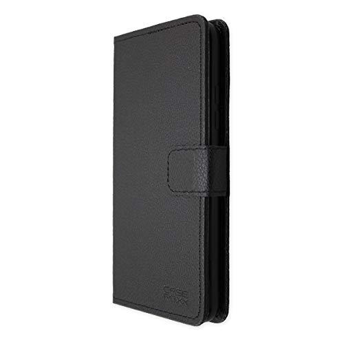caseroxx Hülle für das Gigaset GS370, Taschen in verschiedenen Varianten (Flipcase, TPU-Bumper & Bookstyle) (Bookstyle-Tasche, schwarz)