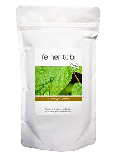 feiner tobi | Classic Blend | Gleichmäßig feinblättrige Kräutermischung | Königskerze, Eibisch, Himbeerblätter
