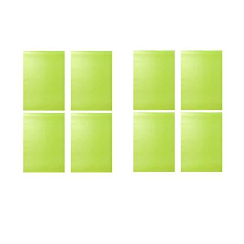 Alfombrilla de refrigerador multifunción anticongelante y resistente al agua, también se puede utilizar como un armario y cajón, manteles individuales, manteles individuales y posavasos