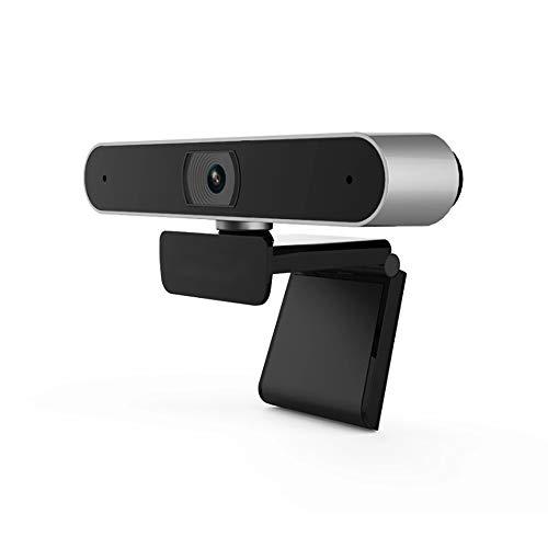 HXwsa webcam, HD-autofocus 5-megapixel-1080p met microfoon en videooproepen beschikbaar camera, met groot scherm USB-computer voor PC Mac, laptop, desktop, video, conferencing oproepen opnemen