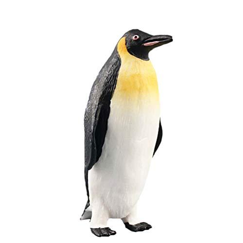 Toyvian Animales Marinos Figura Pingüinos Masculinos Juguete Océano Mar Partido de Juguete Criatura Bolsa de Relleno Juguete de Baño para Niños Niños