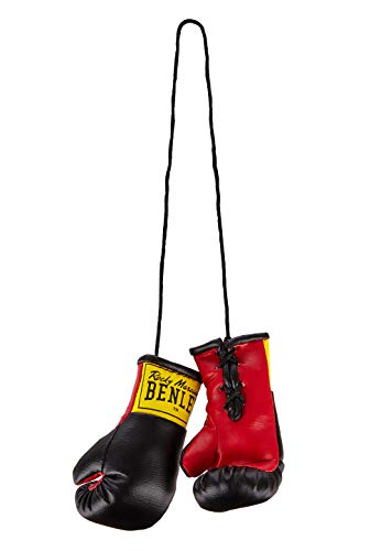 BENLEE Rocky Marciano Mini Gloves Guantes de Boxeo en Miniatura, Unisex Adulto, Negro, Talla única