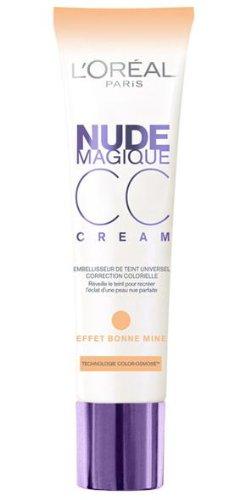 Loreal Paris Nude Magique CC Cream Hautton-Korrigierer Anti-Müdigkeit Inhalt: 30ml Weckt müden Teint auf - für eine natürlich makellose Haut, wie ungeschminkt mit Hautton anpassende Pigmente. Foundation Make-Up