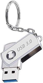 2TB 金属製回転式USB 3.0 で高速転送 メモリ フラッシュドライブ フラッシュメモリー キーホルダー設計 USBドライブメモリースティック フラッシュドライブ (1TB)