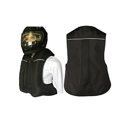 Chaleco De Moto Con Airbag Chaleco De Equitación Con Cinta Reflectante, Es Más Seguro Conducir De Noche. Utilizado Para Deportes Ecuestres, Equitación Al Aire Libre (No Equipado Con Cartucho De CO2) E
