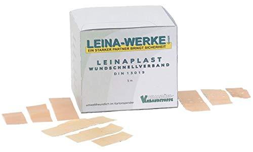 LEINA-WERKE REF 70300 Pflaster-Set, 10 x 6 cm, elastisch, weiß