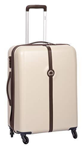 Delsey Clava ABS 66 Cm 4 Wheels Dark Beige Medium Hard Suitcase