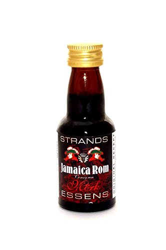 JAMAICA RUM - Wodka Aroma Essenz Konzentrat Vodka Fusel Turbohefe / 25ml Für 0.75L Alkohol…