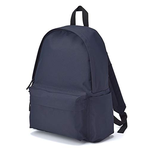 Muji Shoulder Comfort Water Repellent Rucksack, Navy