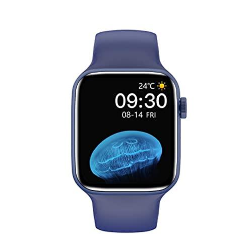 Eaarliyam Fitness Smart Watch HW22 Pro Calorie Step Counter con Ritmo cardíaco Presión Arterial Supervise Pedómetro Caminando para Hombres Mujeres Azul