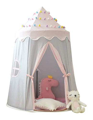 zvcv Carpa Plegable para niños, Carpas Carpa de yurta Reforzada, Carpa Bicolor...