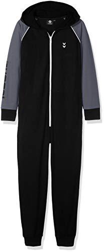 Hummel Jungen HMLMILO Jumpsuit, Black, 158/164