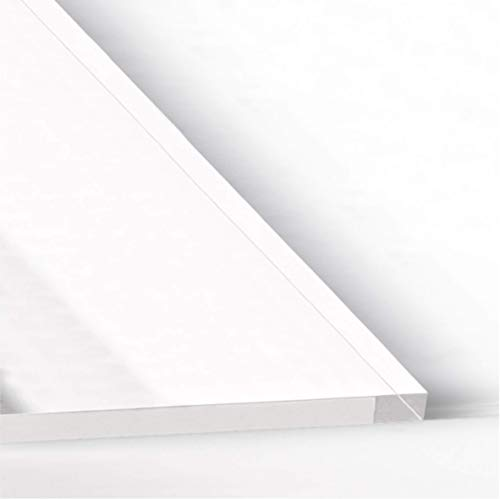 Estante universal para frigorífico en metacrilato de 8 mm | Corte a medida | Balda para nevera | (47 x 17,5 cm)