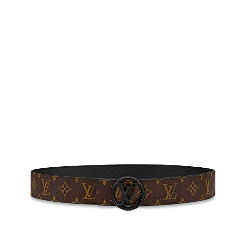 Louis Vuitton LV Circle 40mm Reversible Belt Brown Black (95 cm)