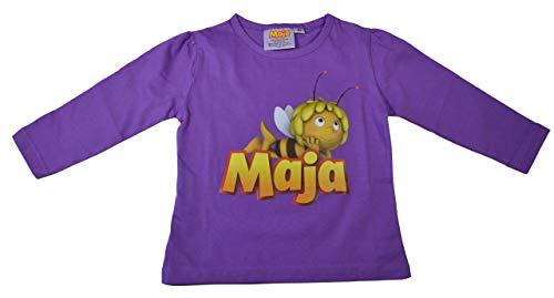 Biene Maja T-Shirt Langarm Lila Gr. 92 Baumwolle weich angenehm süsse Motive 98 104 110 116