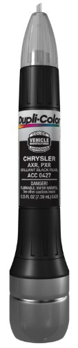 Dupli-Color (ACC0427-12PK) Brilliant Black Pearl Chrysler Exact-Match Scratch Fix All-in-1 Touch-Up Paint - 0.5 oz., (Pack of 12)