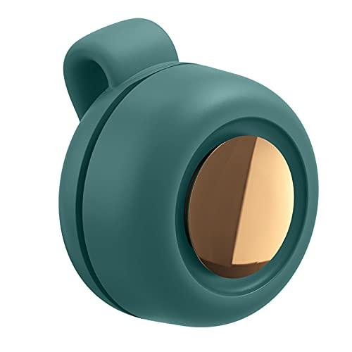Baoblaze Pequeño Ventilador portátil Mini Clip-on Ventilador de Mano Libre Ventilador de Carga USB fácil de Ajustar la posición. Adecuado para Correr, Verde