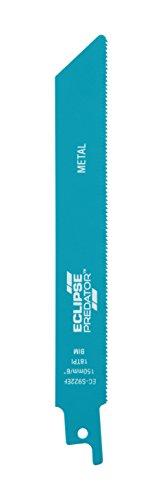 Eclipse ec-s922ef Lames HCS pour scie Alternative, Bleu, 15 x 1.9 x 0.19 cm