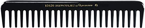 Hercules Sägemann Meisterkamm Styling 13620 Peigne à boucler en caoutchouc naturel à grosses dentures 17,5 cm
