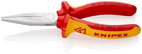 KNIPEX Alicate de boca larga aislado 1000V (160 mm) 30 16 160