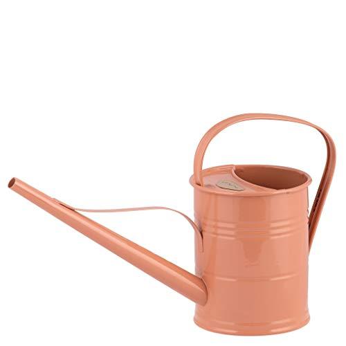 Vintage Home Annaffiatoio Watering Can Metallo Terra Cotta Rose 1,5 litri Bricco retrò