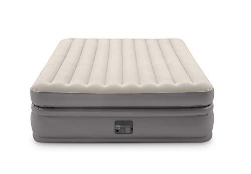 Intex 64164 Materasso Matrimoniale Dura Beam Prime Comfort, con Tecnologia Fiber Tech, Pompa Elettrica Incorporata, 152 x 203 x 51 cm