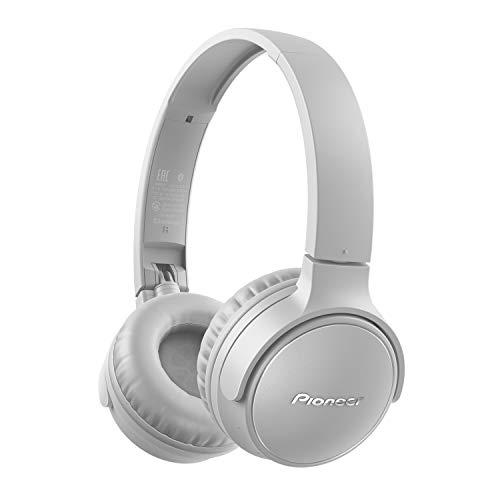 Pioneer S3 Wireless On-Ear Bluetooth 5.0 Kopfhörer (faltbar, 25 Stunden Akku, Schnellladefunktion, Freisprecheinrichtung, Lautstärkenregelung), Grau