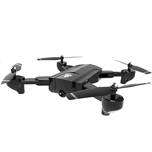ZAKRLYB Cámara aérea Drone, Cámara de Doble Flujo óptico, Cámara de Alta definición de WiFi de 4K HD, Control Remoto Plegable Quadcopter, 22 Minutos Tiempo de Vuelo con Bolsa de Almacenamiento