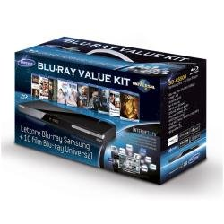 Samsung BD-C5500 Lettore Blu-ray Wifi 2 Usb + 10 Film