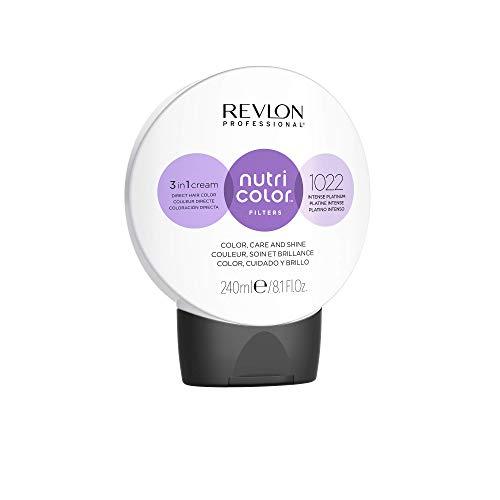 REVLON PROFESSIONAL Nutri Color Filters #1022 Intense Plantinum 240 ml