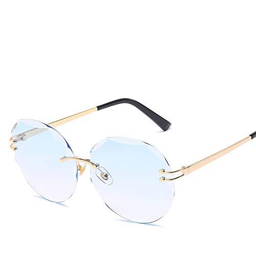 chuanglanja Gafas De Sol Mujer Joven Gafas De Sol Fotocromáticas Mujer Caramelos Lente Degradada Gafas De Sol Vintage-Color-K