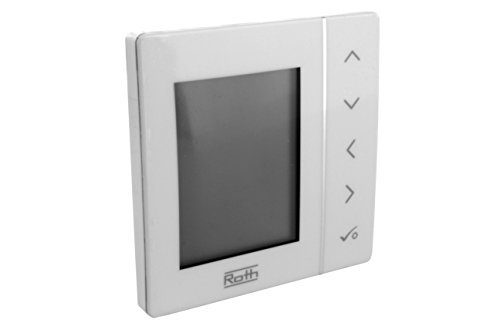 Roth Basicline T, 230V, programmierbarer Uhrenthermostat, Raumregler, 1135007436