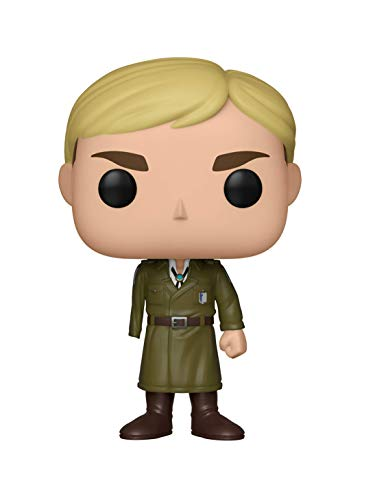 Funko- Figurines Pop Vinyl: Animation: Attack on Titan S3: Erwin (One-Armed) Collectible Figure, 35680, Multcolour