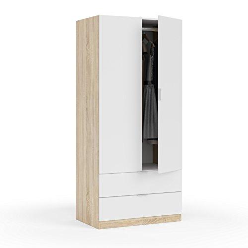 Habitdesign LC1222F - Armario Dos Puertas, Acabado en Color