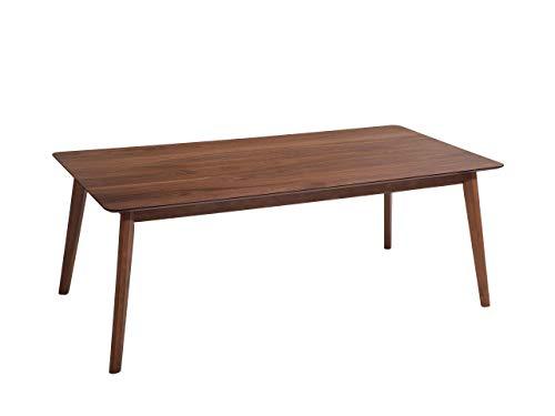 Beliani - Table de Salle à Manger - Madox - 200 x 100 cm, en MDF et Bois, Bois Foncé