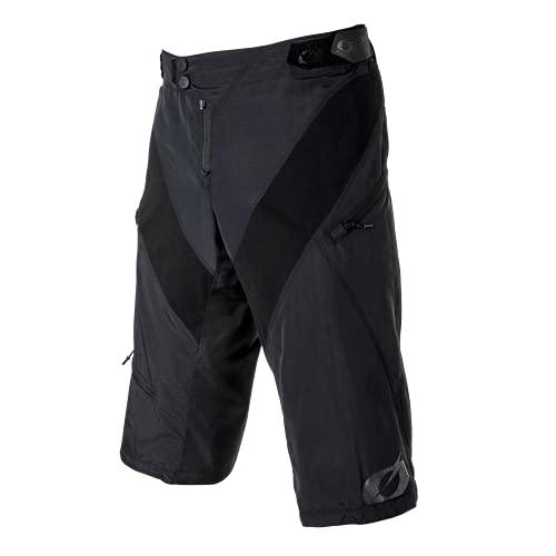 O'Neal | Pantaloncini da Mountainbike | MTB Downhill Freeride | Chiusura a Scatto, vestibilità sicura, Tessuto performante ad Asciugatura Rapida | Pantaloncini Generator | Adulto | Nero | Taglia 34