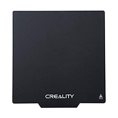 3DBUYER Creality Flexible Removable Magnetic 3D Printer Compatible with Plate Panel Build Surface hot Plate Ender 3, Ender 3 Pro, Ender 5, Ender 5 Pro Hot Bed Cover 235x235x1mm