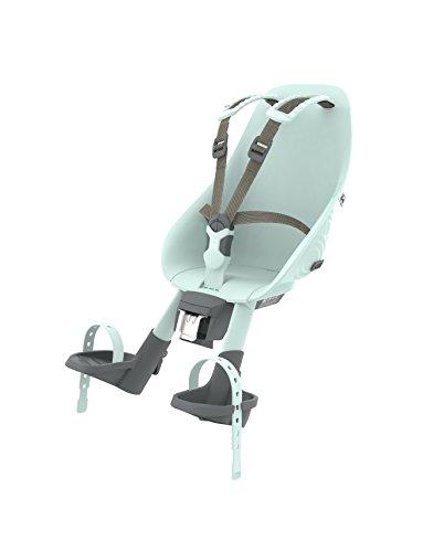 Asiento delantero Urbano Iki completo, asiento para bicicletas para niños. Unisex, Aotake Mint Blue/Aotake Mint Blue, de un tamaño