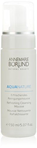 Annemarie Börlind Aquanature femme/woman, Reinigungsmousse, 1er Pack (1 x 150 ml)