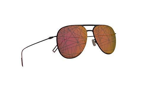Christian Dior Homme Dior0205S Gafas De Sol Negro Y Fuchsia Con Lentes Rosado 59mm 3MR01 0205S Dior0205/S 0205/S
