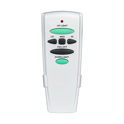 Eogifee Ceiling Fan Remote Control Replacement of Hampton Bay UC7078T with Up and Down Light