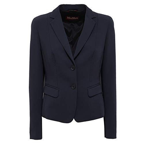 MaxMara 7703AB Giacca Donna Studio Blue Jacket Woman [44]