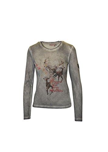 Almgwand Damen Anlaufalm Longsleeve Langarmshirt Sweatshirt