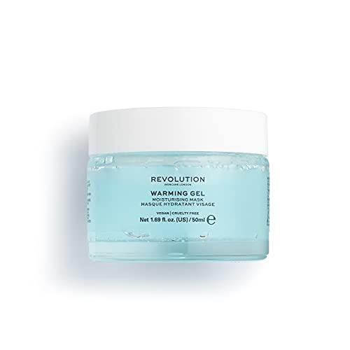Revolution Skincare Warming Gel Moisturising Face Mask,50ml (dry skin, hydrating)