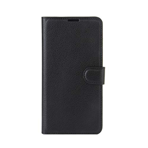 Phone case Lmy for Leagoo M8 Pro Litchi Texture Horizontal Flip Leather Case with Holder & Card Slots & Wallet (Black) (Color : Black)