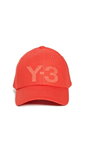 adidas Herren Cap Y-3 Logo -  Rot -  Einheitsgröße