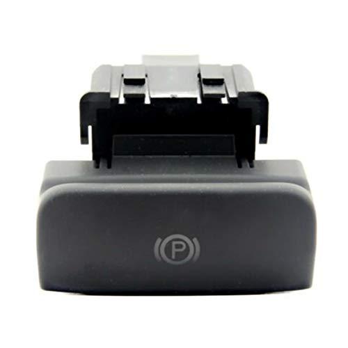 FORETTY Niyao08 Interruptor de Freno electrónico de Freno de Freno de estacionamiento Negro sin Lustre 470702 para Peugeot Citroen C4 Picasso DS4 C4 Durable